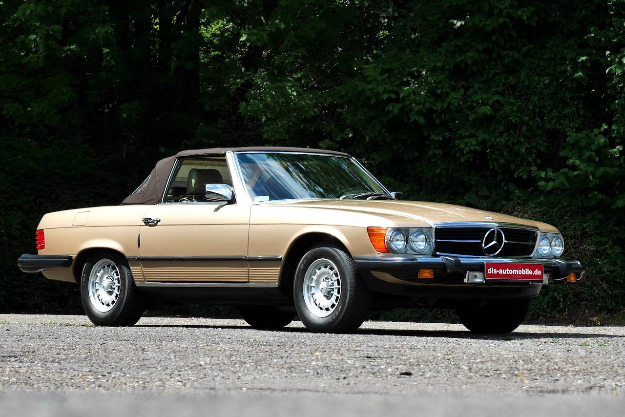 Mercedes benz 380 sl 1983 f r eur kaufen for Mercedes benz 950