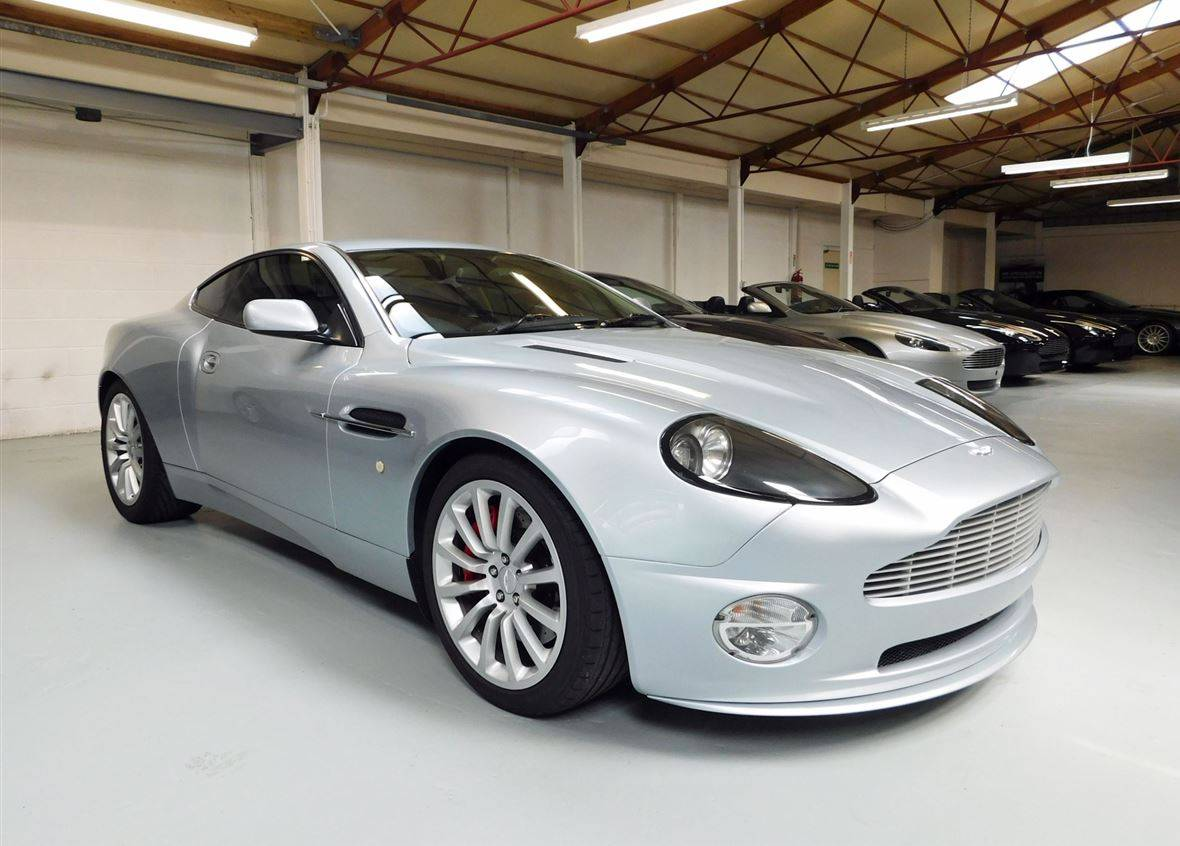 for sale aston martin v12 vanquish 2002 offered for gbp. Black Bedroom Furniture Sets. Home Design Ideas