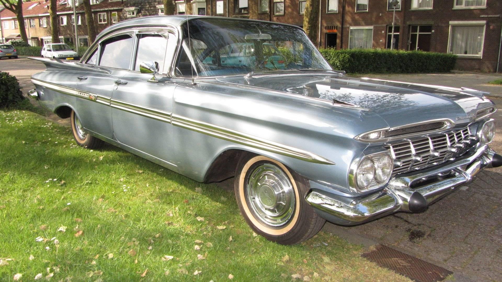 chevrolet impala sport sedan 1959 f r eur kaufen. Black Bedroom Furniture Sets. Home Design Ideas