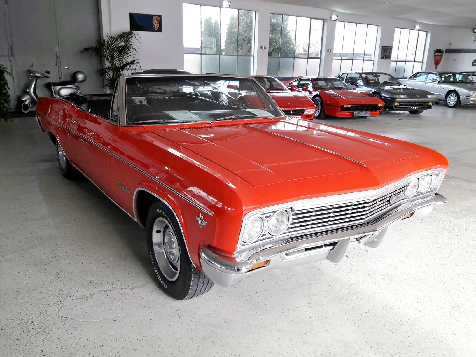 chevrolet impala convertible 1966 f r eur kaufen. Black Bedroom Furniture Sets. Home Design Ideas
