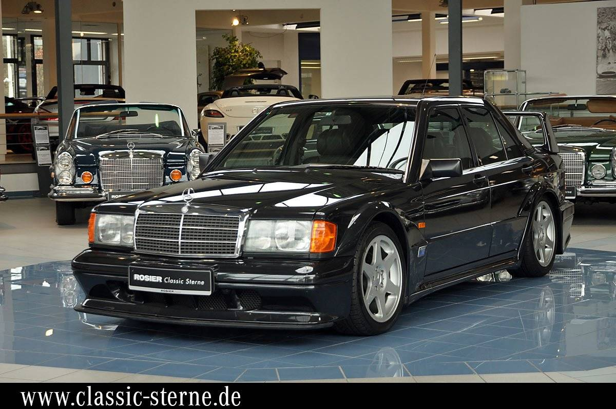 mercedes benz 190 e 2 5 16 evolution ii 1990 f r. Black Bedroom Furniture Sets. Home Design Ideas