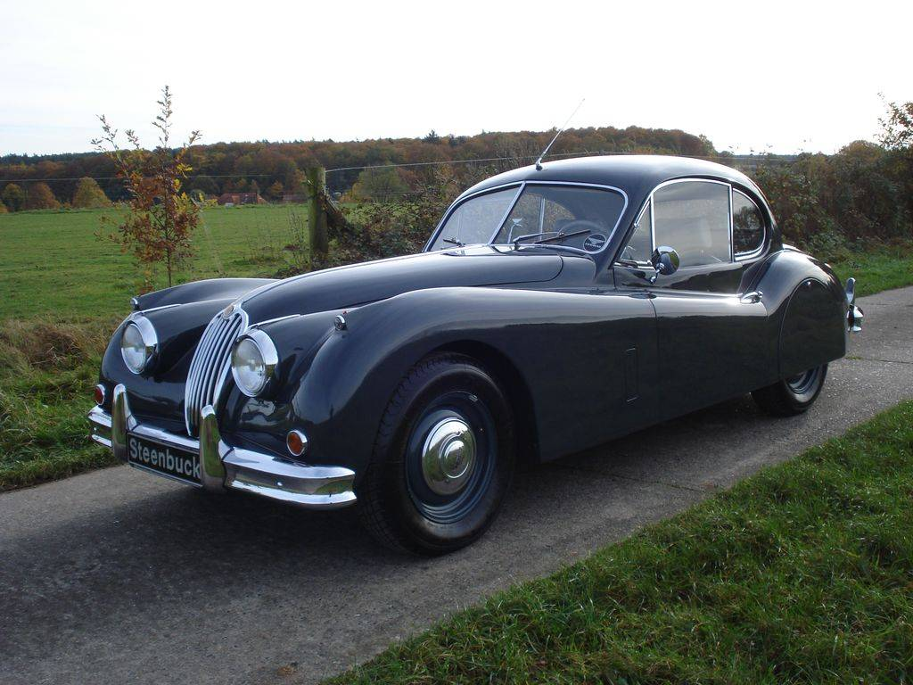 jaguar xk 140 fhc 1956 kaufen classic trader. Black Bedroom Furniture Sets. Home Design Ideas