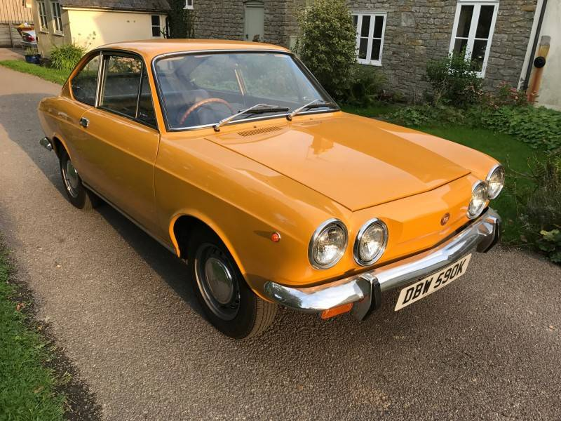 for sale fiat 850 sport coupe 1971 offered for gbp 12 950. Black Bedroom Furniture Sets. Home Design Ideas