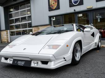 Wonderful Lamborghini Countach 25th Anniversary