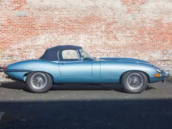 Jaguar E Type 3.8 Flat Floor