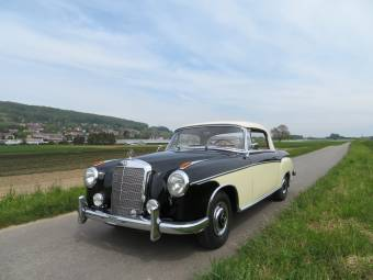 Blechspielzeug Autos & Lkw Vintage Selten 50er Jahre Mercedes Benz 219 4-türer Cabrio