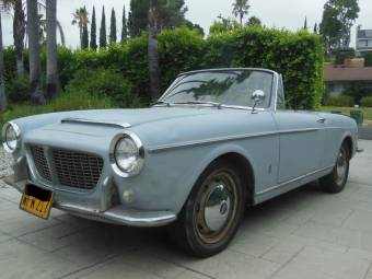 1961 FIAT 1200 SPIDER Convertible /& FIAT 600 Car Vintage Look REPLICA METAL SIGN
