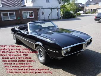 pontiac firebird oldtimer kaufen classic trader. Black Bedroom Furniture Sets. Home Design Ideas