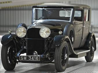 Bentley 4 1/2 Litre Mulliner