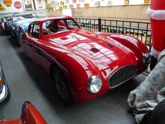 Cisitalia 202 MM aerodinamica