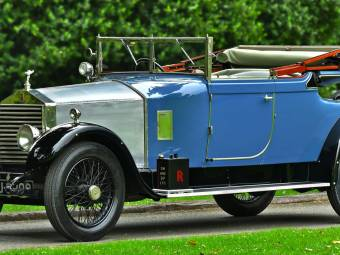 Rolls-Royce 20 HP Doctors Coupe Convertible