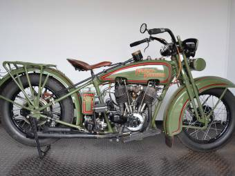 Harley-Davidson Model JD