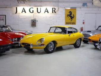 Jaguar E Type 3.8 Flat Floor