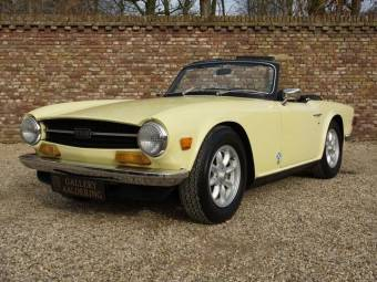 Triumph Tr 6 Classic Cars For Sale Classic Trader