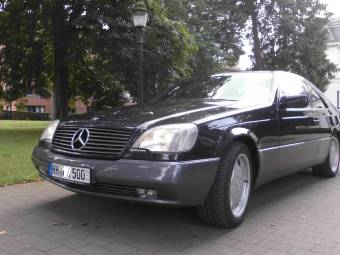 Mercedes-Benz S 500 Coupé