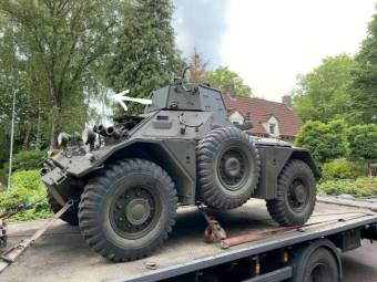 Daimler Ferret Armoured Car