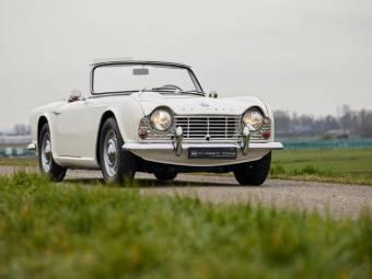 Triumph Tr 4 Classique De Collection à Acheter