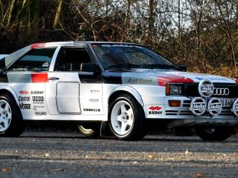 Audi quattro Group 4