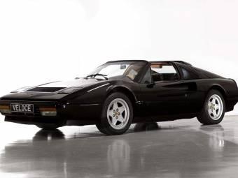 black sports car ferrari. ferrari 328 gts black sports car