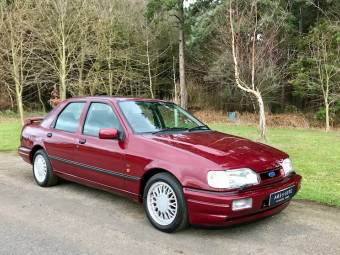 XR3i RS Turbo RS1600i /& RS Cosworth illustrated FORD ESCORT MkIII to MkV Print