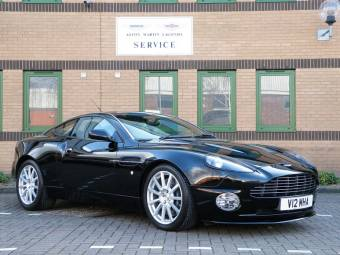 Aston Martin V12 Vanquish S Ultimate Edition