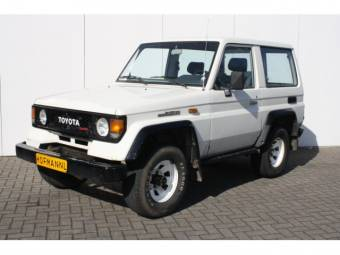 Toyota Land Cruiser Turbo LJ 70