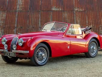 jaguar xk 120 oldtimer kaufen - classic trader