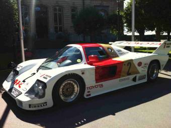 Toyota Gruppe C Le Mans GTM