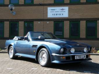 Aston Martin V Convertible Classic Cars For Sale Classic Trader - Aston martin convertible