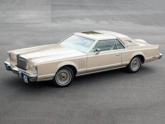 Lincoln Continental Mark V Cartier