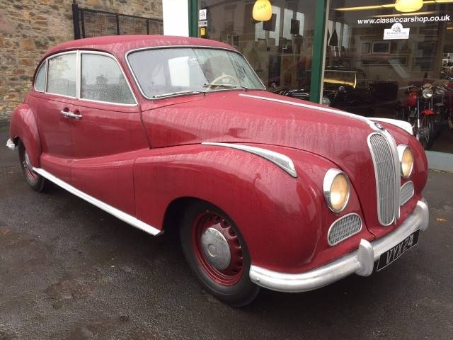 For Sale: BMW 501 (1952) offered for GBP 24,950