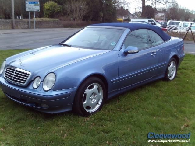 For Sale Mercedes Benz Clk 230 Kompressor 2002 Offered For Gbp 2 995