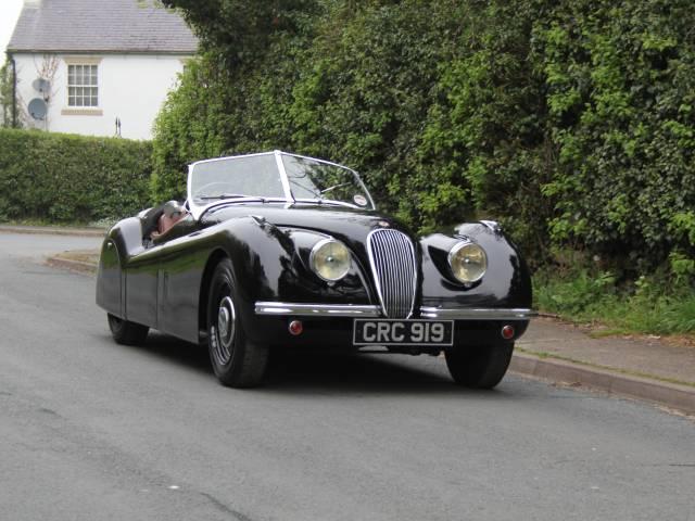 For Sale: Jaguar XK 120 OTS (1951) offered for GBP 119,995