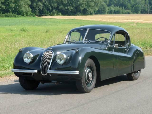 jaguar xk 120 fhc 1952 en vente classic trader. Black Bedroom Furniture Sets. Home Design Ideas