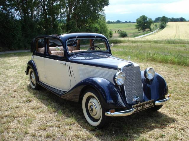 Mercedes benz 170 v cabrio limousine 1938 for sale for Mercedes benz 170 ds for sale