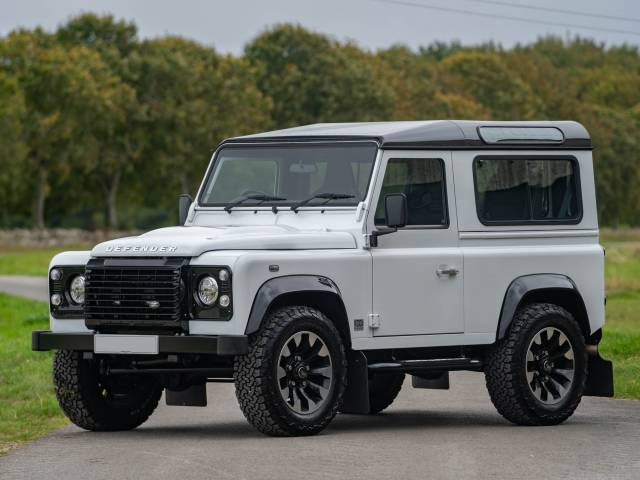 "Land Rover Defender 90 Works V8 ""70th Edition"""