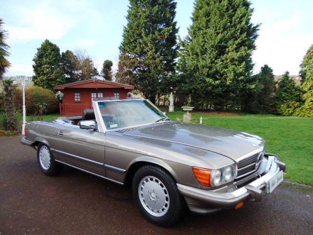 for sale: mercedes-benz 560 sl (1988) offered for gbp 38,500