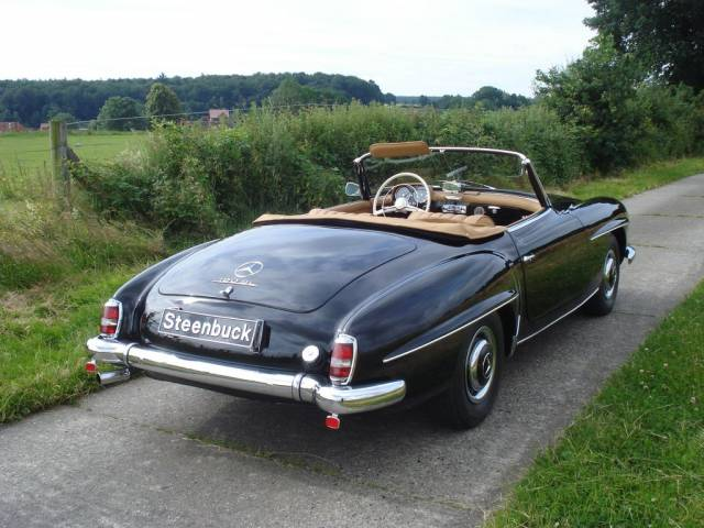 mercedes benz 190 sl 1956 kaufen classic trader. Black Bedroom Furniture Sets. Home Design Ideas