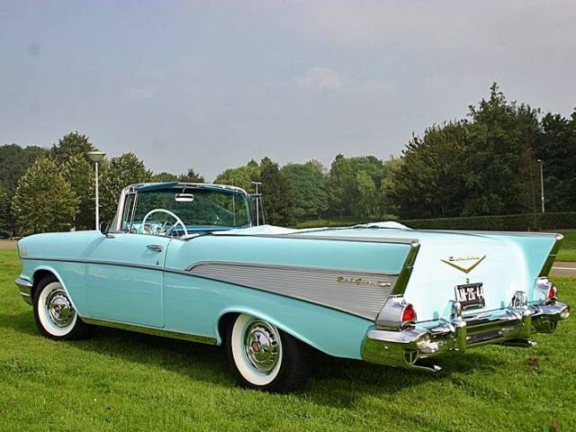 chevrolet bel air convertible 1957 f r chf 81 39 090 kaufen. Black Bedroom Furniture Sets. Home Design Ideas