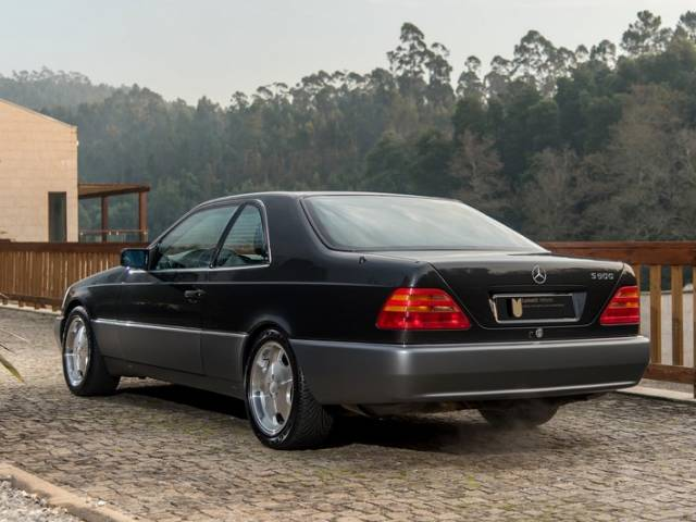Mercedes Benz S 500 Coupe