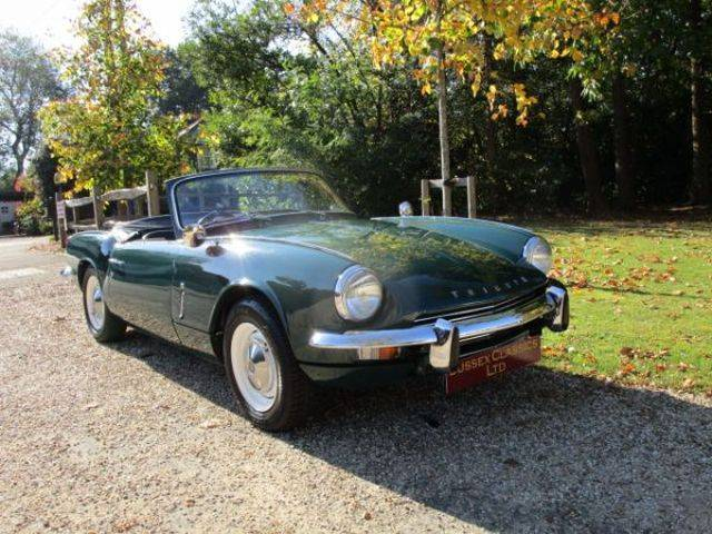 For Sale Triumph Spitfire Mk Iii 1967 Offered For Gbp 9995