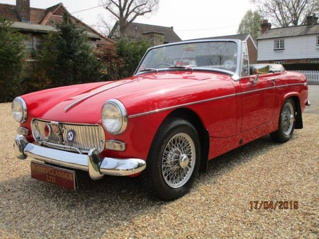 For Sale: MG Midget (1968) offered for GBP 12,950