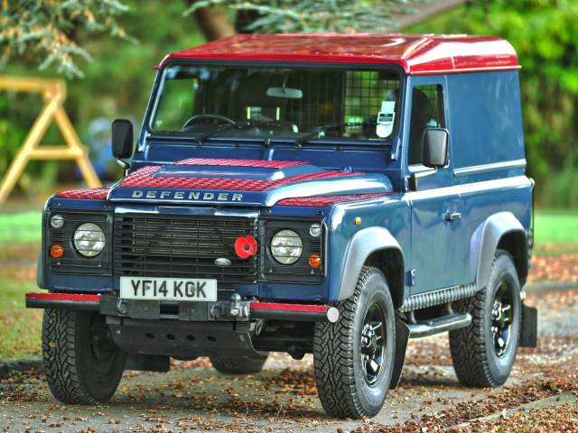 for sale: land rover defender 90 (2014) offered for gbp 27,000