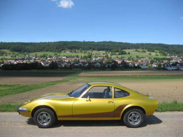 voiture opel gt occasion de 1973 pour 10849. Black Bedroom Furniture Sets. Home Design Ideas