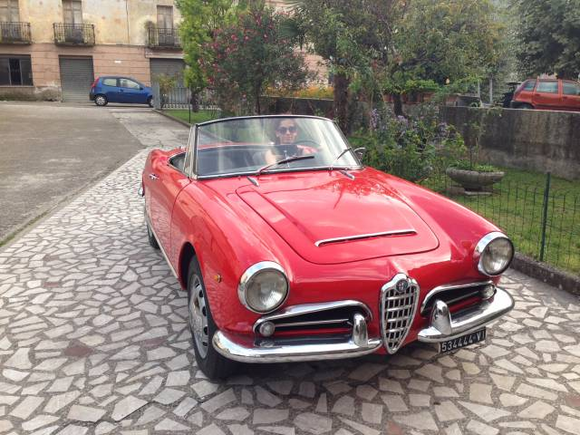 alfa romeo giulia 1600 spider 1962 f r chf 89 39 212 kaufen. Black Bedroom Furniture Sets. Home Design Ideas