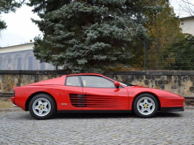 ferrari testarossa 1989 f r eur kaufen. Black Bedroom Furniture Sets. Home Design Ideas