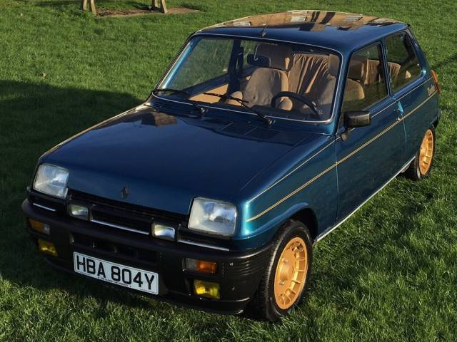 for sale renault r 5 alpine turbo 1983 offered for gbp 11 999. Black Bedroom Furniture Sets. Home Design Ideas