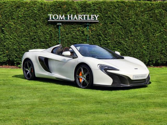 for sale: mclaren 650s spider (2015) offered for gbp 132,950