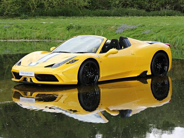 For Sale Ferrari 458 Speciale Aperta 2015 Offered For Gbp