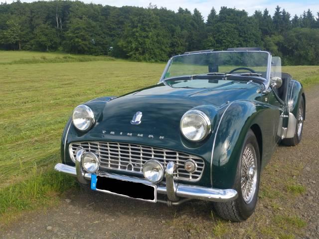 Triumph Tr 3a 1960 Für 38000 Eur Kaufen